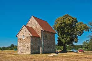 Kaplnka v Kopčanoch Česká cesta Via Bohemica