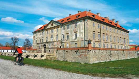 Kaštieľ v Holíči Česká cesta Via Bohemica