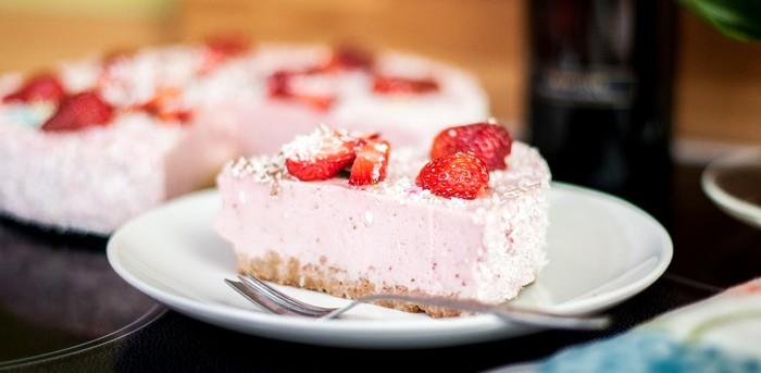 pitahaya smotanový koláč