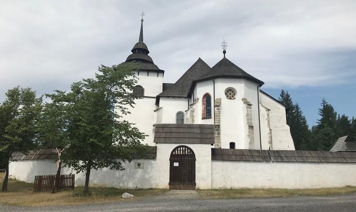 skanzen Pribylina kostol Panny Márie