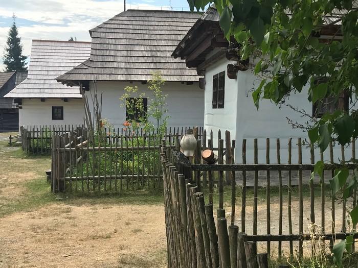 skanzen Pribylina domy