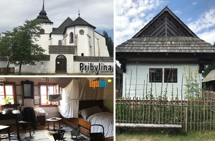 skanzen Pribylina