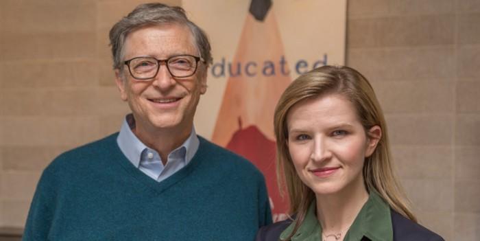 Tara Westoverová a Bill Gates