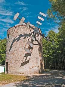 Veterný mlyn Holíč Česká cesta Via Bohemica