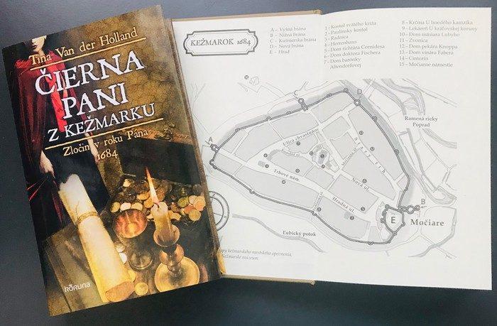 historická detektívka Čierna pani z Kežmarku