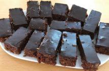 recept na čokoládový cuketový koláč