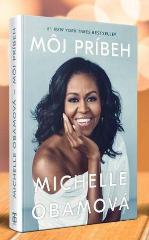 kniha Môj príbeh Michelle Obamová
