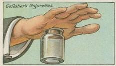 trieska v dlani