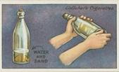 zašpinená fľaša