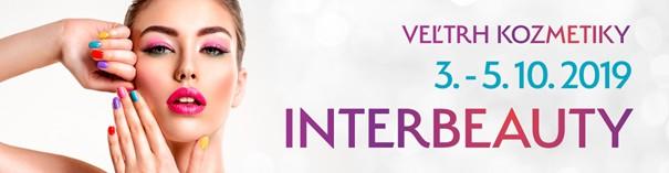 veľtrh krásy Interbeauty 3.10 - 5.10.2019
