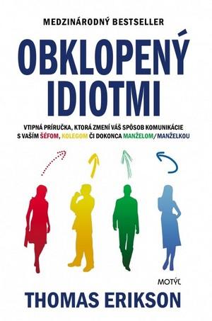 kniha Obklopený idiotmi
