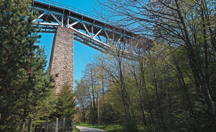 Viadukt pri Myjave.