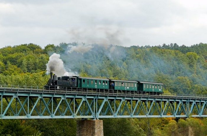 nádherná železničná trať