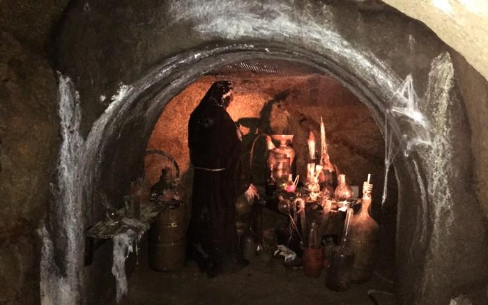 Podzemné chodby v Znojme.