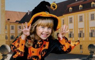 halloween na zámku schlosshof