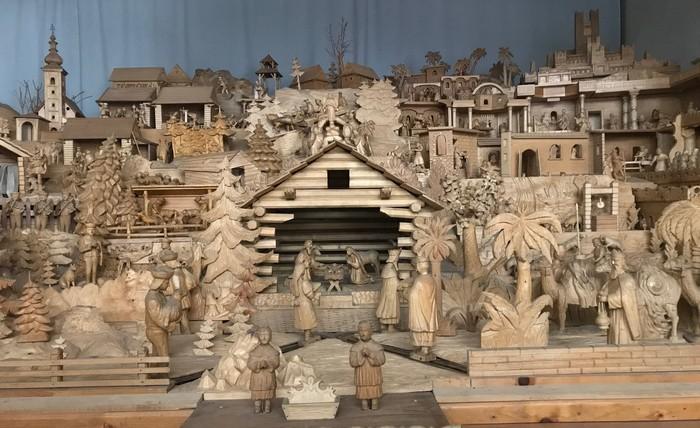 drevený Betlehem Terčchová