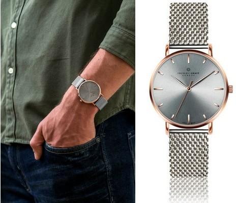 tipy na darčeky - hodinky Graff