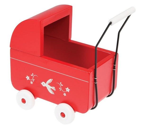 tipy na darčeky - kočík pre bábiky