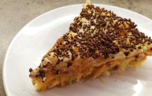 trasená torta - recept