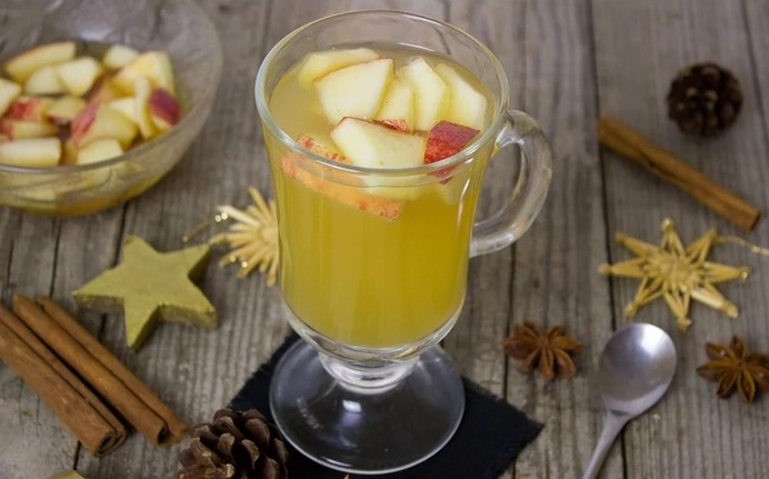 vianočné nápoje - detský punč