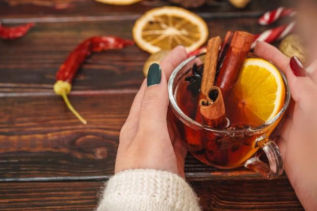 rumový grog - vianočné nápoje