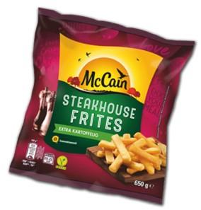 McCain Steakhouse Frites 650g