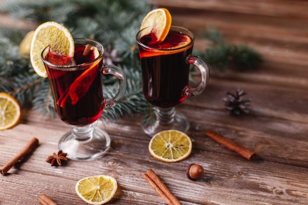 vianočné nápoje - varené víno