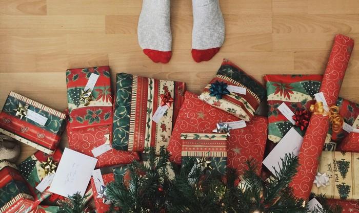 darčeky a vianočné tradície
