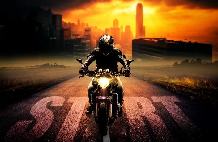 kam zaparkovať svoju motorku?