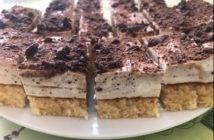šľahačkový koláč recept