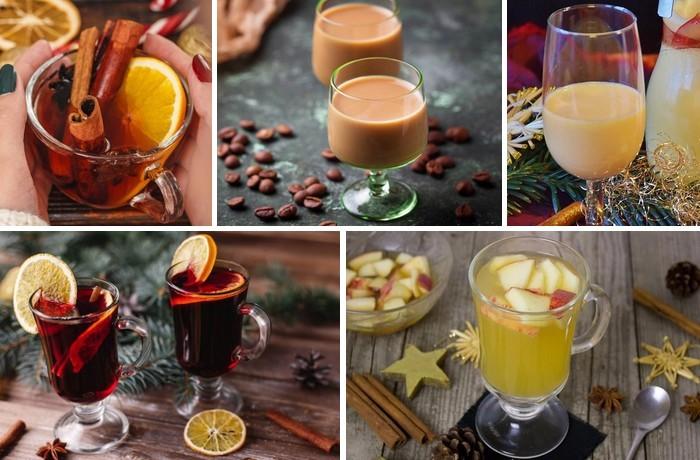 5 receptov na vianočné nápoje