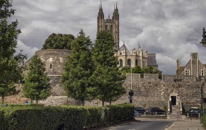 najkrajšie katedrály - Katedrála v Canterbury