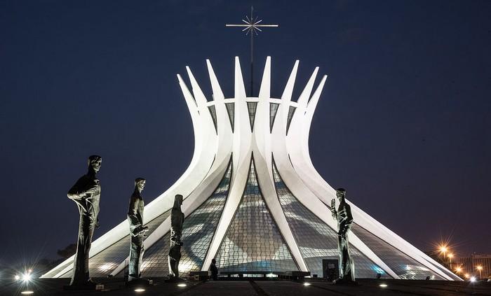 najkrajšie katedrály - Brazília
