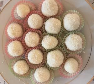 recept na kokosové guľky