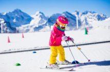 dieťa prvýkrát na lyže