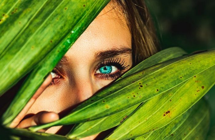 vhodné potraviny pre zrak