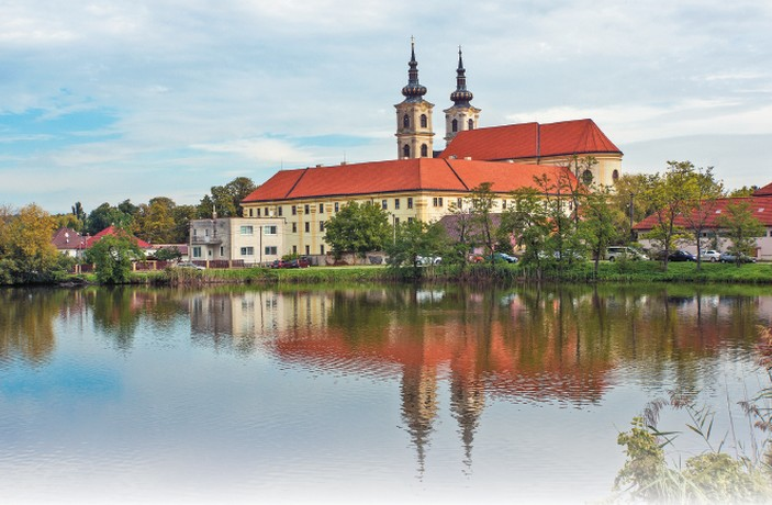Šaštín-Stráže Bazilika komplex