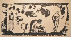 drevoryt Gauguin výstava Milan Rastislav Štefánik