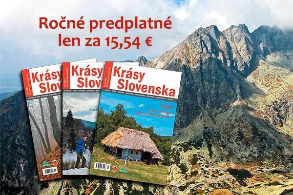 Krásy Slovenska predplatné