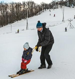 lyžovanie na Zochovej chate