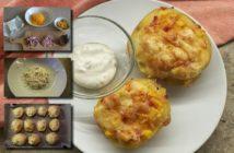 3 recepty na zapekané plnené zemiaky