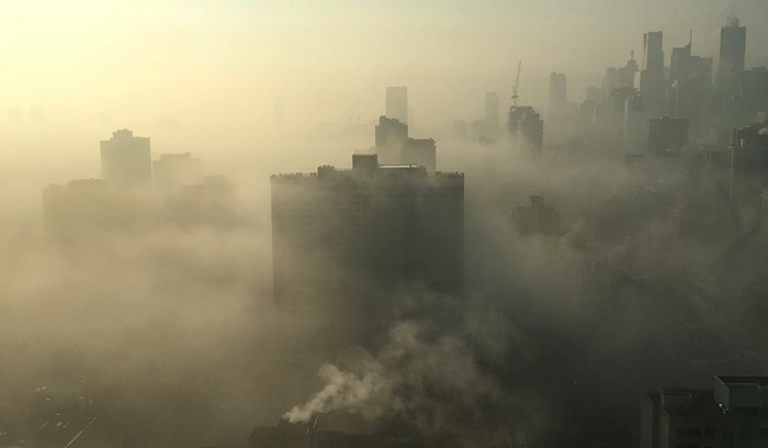 zimný smog