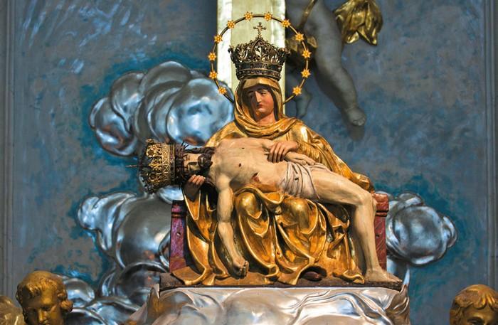 Zázračná soška Panny Márie Šaštínskej.