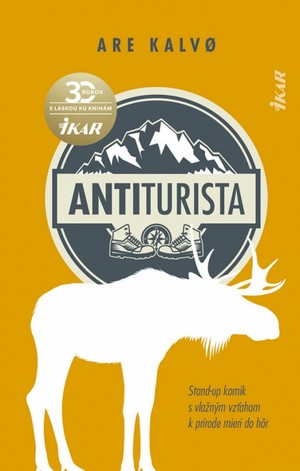 kniha Antiturista - zábavné knih