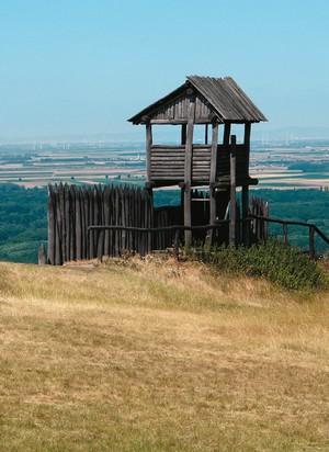 Výhľad z kopca Haunburg