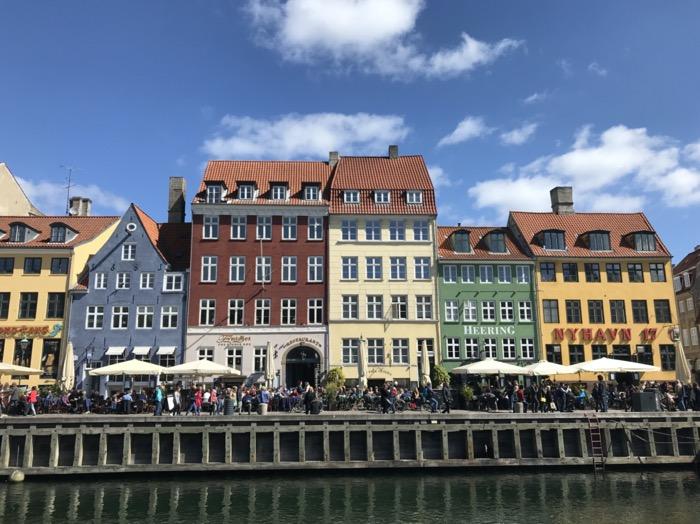 Ikonická štvrť Nyhavn v Kodani