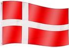 Dánsko zástava