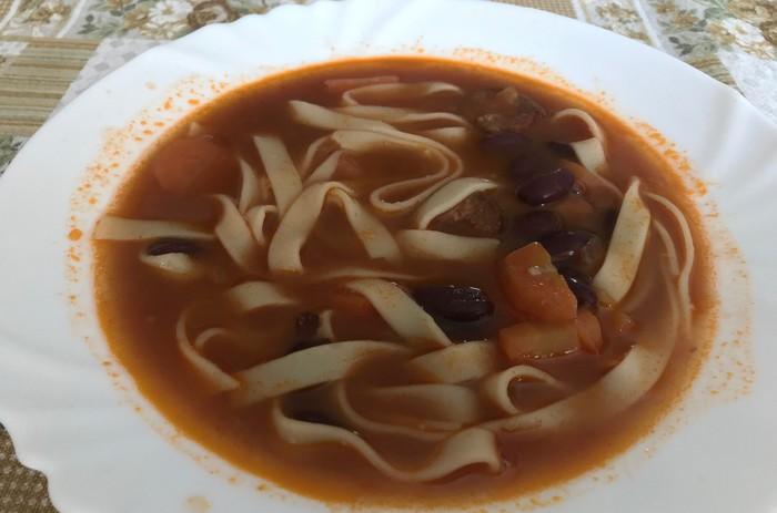 tradičná fazuľová polievka