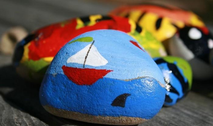 tvorenie s deťmi - maľovanie kamienkov