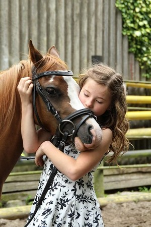 terapia zvieratami - kôň